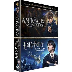 DVD FILM Coffret Harry Potter à l'école des sorciers et Les