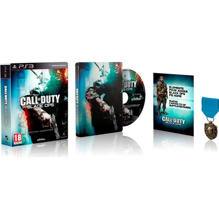 JEU PS3 CALL OF DUTY BLACK OPS Collector / Jeu console PS3