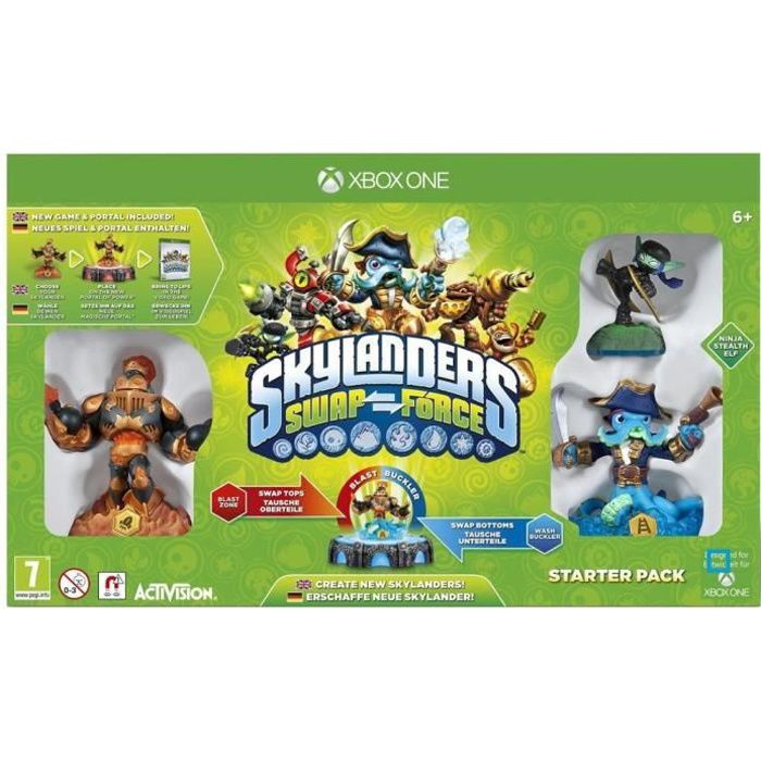 JEUX XBOX ONE Pack de Démarrage Skylanders Swap Force Xbox One