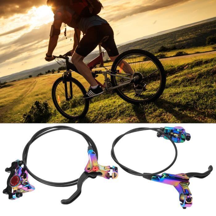 Frein à disque hydraulique HB-875 pour vélo de direction pour freins avant gauche - arrière droit de vélo de montagne(coloré )-LAT