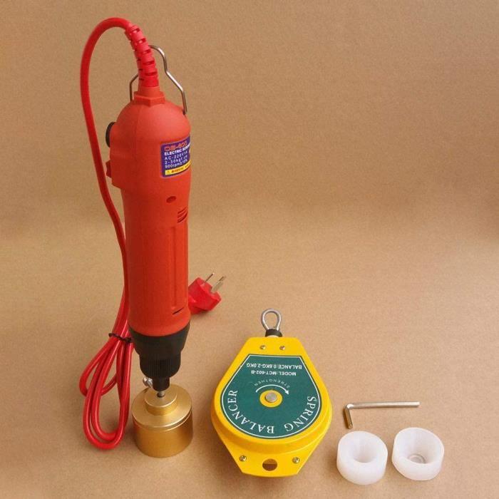Bouchons de bouteille de scellage à vis tenue dans la main/boucheuse de bouchons électrique