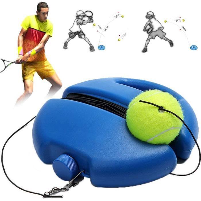 Tennis Trainer Rebound Ball, Équipement Dentraînement De Tennis Pratique Outil De Rebond pour Enfants Débutant Formateur de Tennis