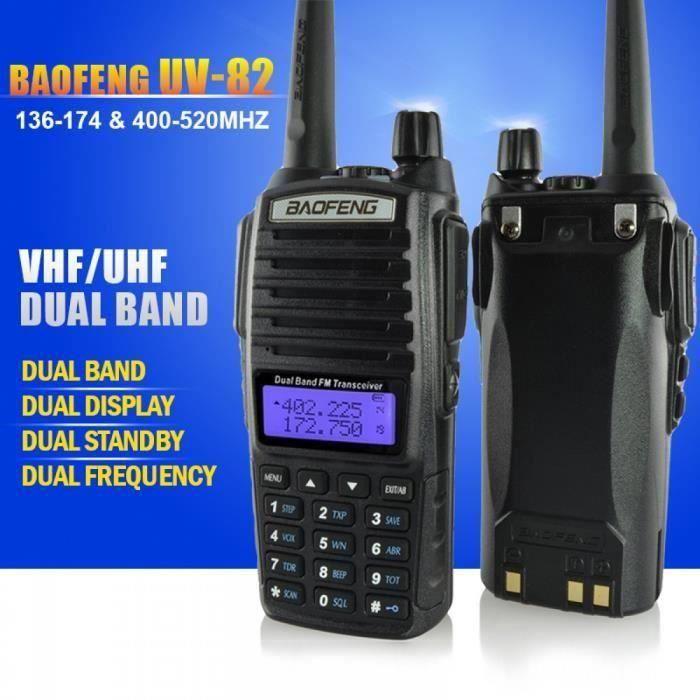 Baofeng Uv - Bi - Bande 136 - 174-400 - 520 Mhz Fm Ham Radio Bidirectionnelle, Émetteur - Récepteur, Ht - Avec Batterie, Ant My23744