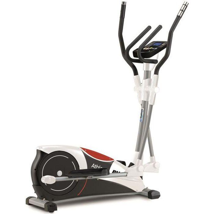 BH Fitness Vélo elliptique ATHLON PROGRAM G2336B - Systéme inertiel de 10 Kg - Foulée de 30 cm - 17 programmes