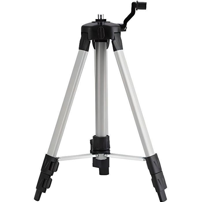 1.2M Trépied télescopique de Niveau Laser Ajustable,pour Le Chantier