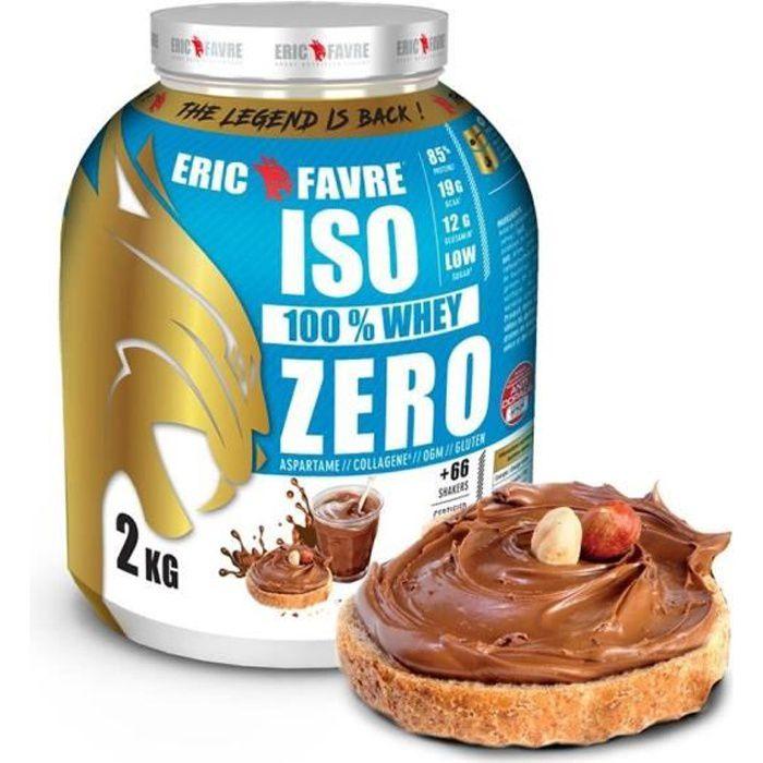 Iso Zero 100% Whey Protéine - Eric Favre Chocotella