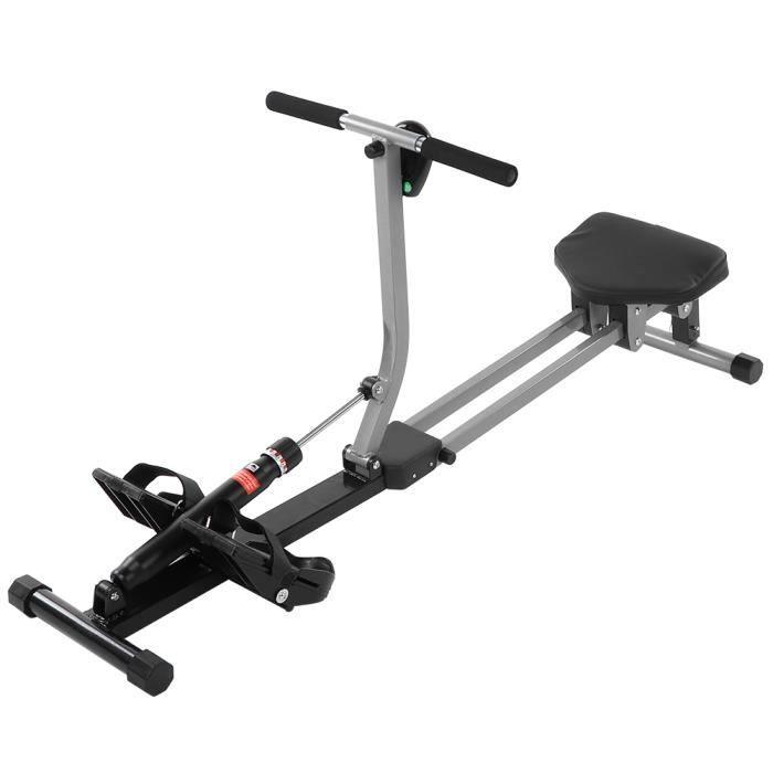 Rangée assise de rameur d'intérieur d'équipement de forme aérobie de machine à ramer pour les sports cardio de gymnase à domicile