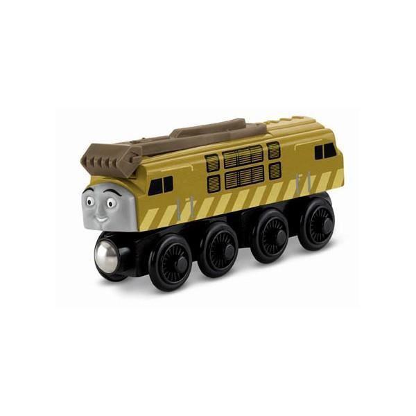 Mattel train moyen Y4076 de chemin de fer en bois