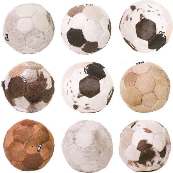 Ballon Copa Football en peau de vache - multicolore - Taille 5