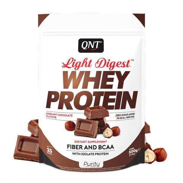 Light Digest Whey Protein Chocolat Noisette 500 g