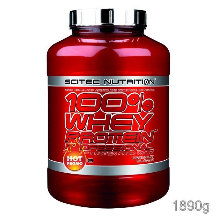 100% Whey Proteine Professional 1890g COCO Scitec