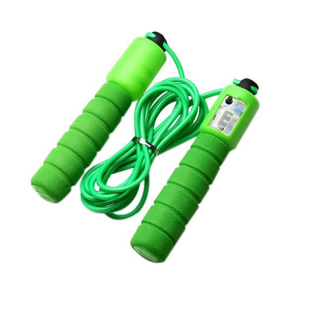 Éponge de Sport Multifonctionnelle Comptant la Corde à Sauter Électronique Professionnelle Modèle Remise en Forme Appropriée pour