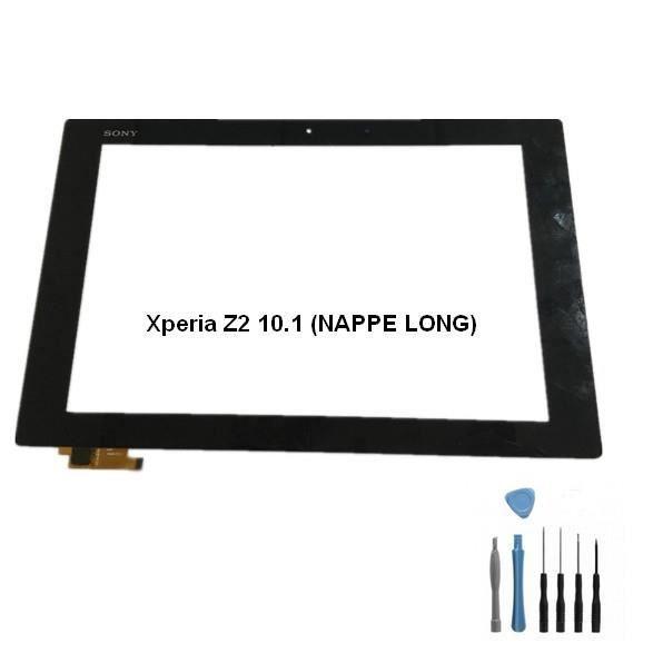 Vitre Tactile Tablette Xperia Z2 10.1 SGP511 SGP512 (NAPPE LONGUE))