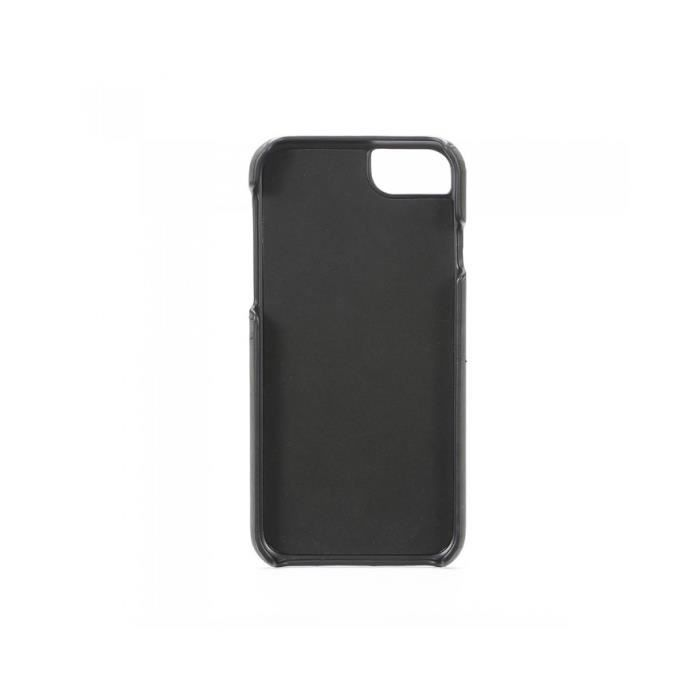 Coque porte-cartes iPhone 6/6S/7/8 Noir