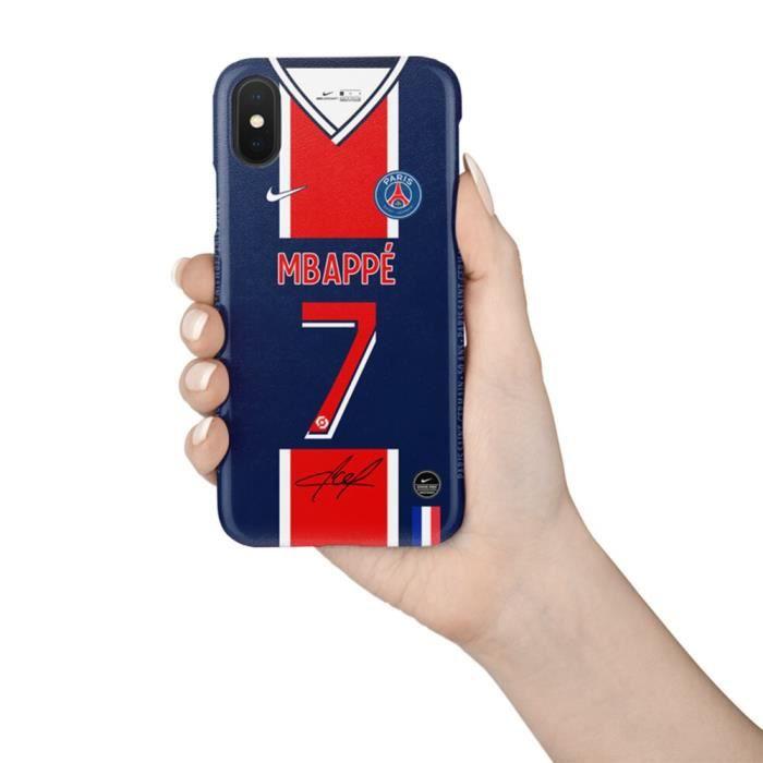 Coque iPhone 6-6S,20-21 Maillot Domicile Motif MBAPPE PSG Paris ...