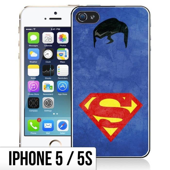 coque iphone 5 5s superman arts design