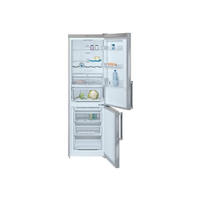 RÉFRIGÉRATEUR CLASSIQUE Balay 3KF6675XE Réfrigérateur-congélateur pose lib