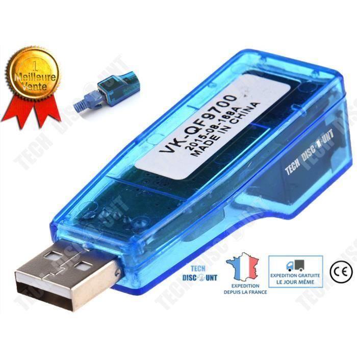 SWITCH - HUB ETHERNET  KIN TD® Adaptateur USB Ethernet swtich mac asus ni