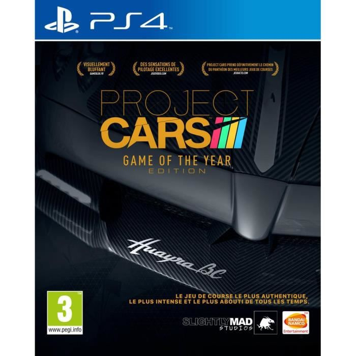 project cars goty edition ps4 achat vente jeu ps4 project cars goty ps4 cdiscount. Black Bedroom Furniture Sets. Home Design Ideas