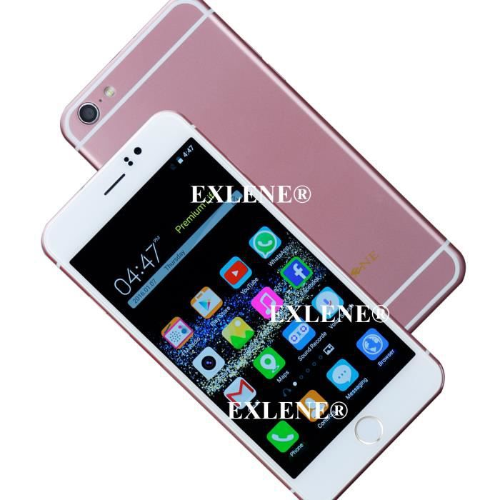 smartphone d bloqu 6 pouces 3g android 5 1 mtk6580 1 3ghz quad core mobile phone double sim. Black Bedroom Furniture Sets. Home Design Ideas