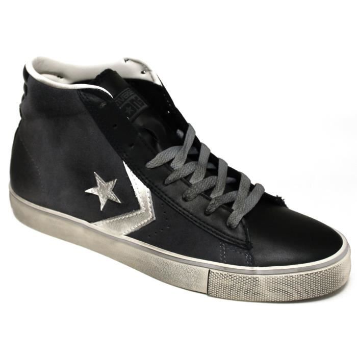 converse pro leather vulc mid suede