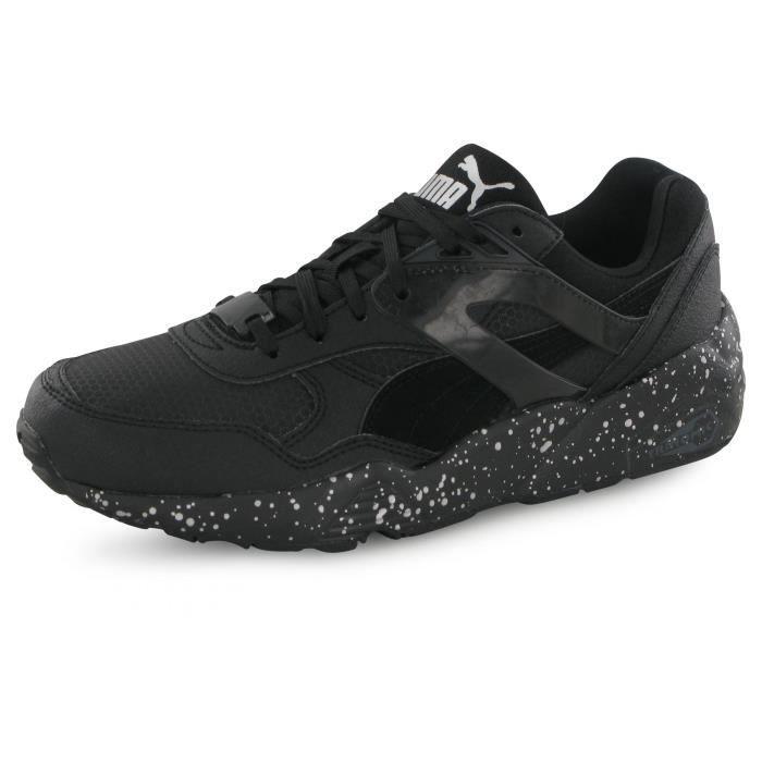BASKET Puma R698 Speckle noir, baskets mode mixte