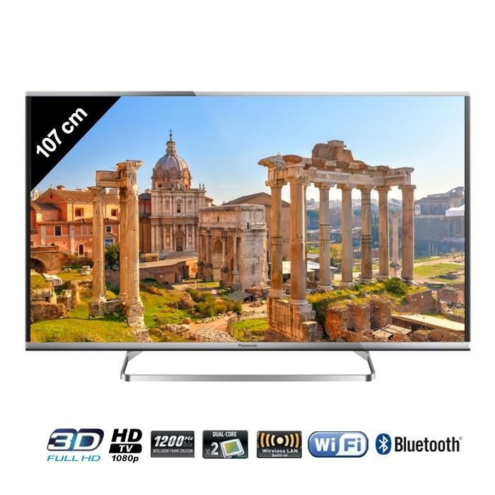 panasonic tx 42as650e tv led 3d connect 107 cm. Black Bedroom Furniture Sets. Home Design Ideas