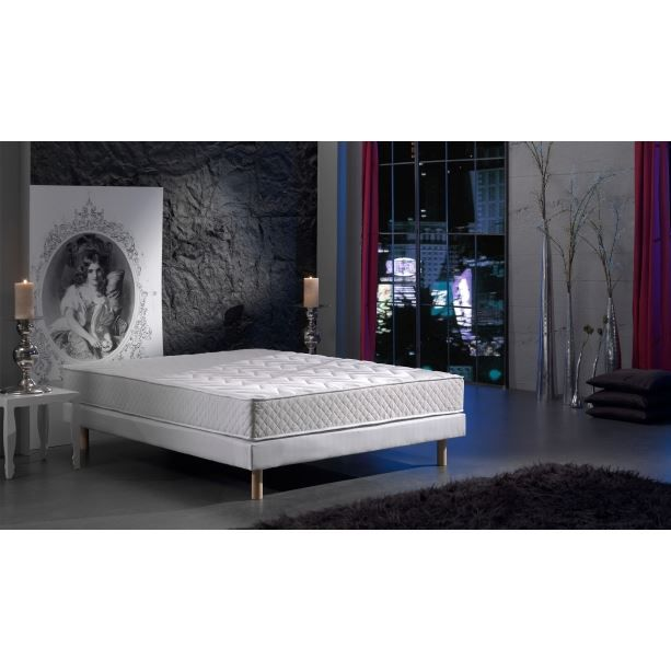 sommier et matelas ressort biconique 160x200 ph achat vente ensemble literie cdiscount. Black Bedroom Furniture Sets. Home Design Ideas