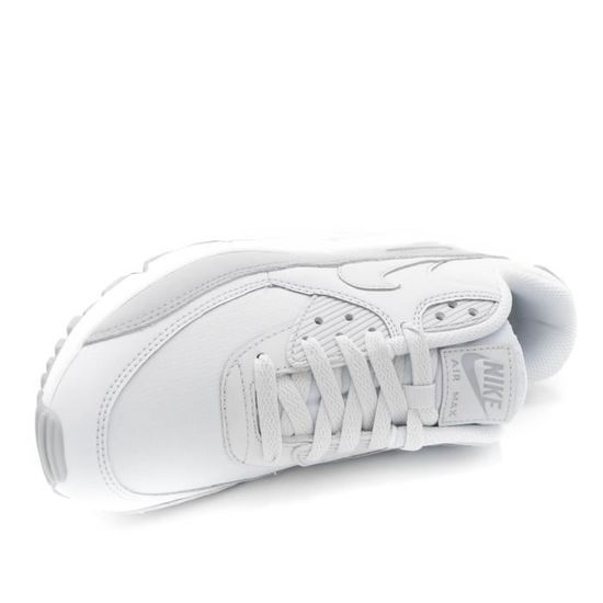 reputable site dfff7 bb050 ... Nike Air Max 90 Essential Basket homme Wolf Grey-Pure Platinum blanc T.  42 ...