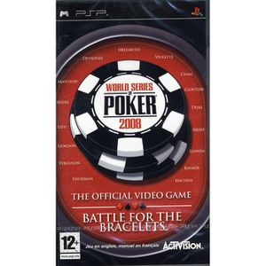 WORLD SERIES OF POKER 2008 / JEU CONSOLE PSP