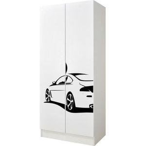 Poign/ée de meuble pour portes coulissantes et armoires Avec vis 64 mm AMAR En m/étal Gedotec