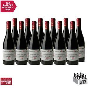 VIN ROUGE Côtes du Rhône Villages Laudun Rouge 2017 - Domain