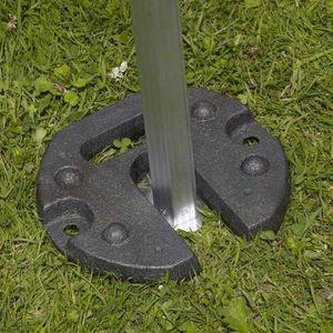 TONNELLE - BARNUM Poids de lestage12 kg pour tente pliante
