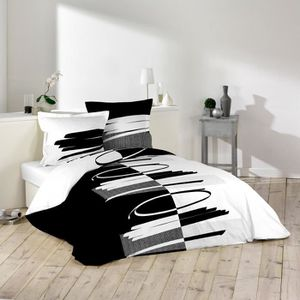 housse de couette a pression 200x200 achat vente housse de couette a pression 200x200 pas. Black Bedroom Furniture Sets. Home Design Ideas