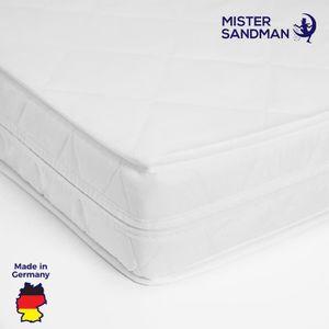 MATELAS Matelas blanc 160x200cm moussehousse lavable doubl