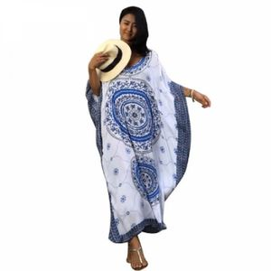ROBE Sublime Robe Africaine - Bleu, Taille unique