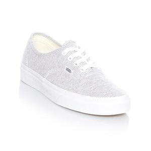 fadb05aec09ef BASKET Chaussures Femme Vans Authentic Gris True Blanc