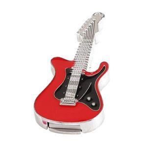 CLÉ USB Guitare électrique en Cristal avec Disque U Stocka