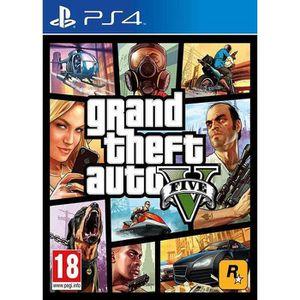 JEU PS4 GTA V - PS4