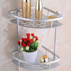 COLONNE - ARMOIRE SDB 2 tier Armoire de salle de bain Étagère d'angle mu