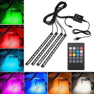 BANDE - RUBAN LED Bande de lumière de voiture LED, kit d'éclairage s