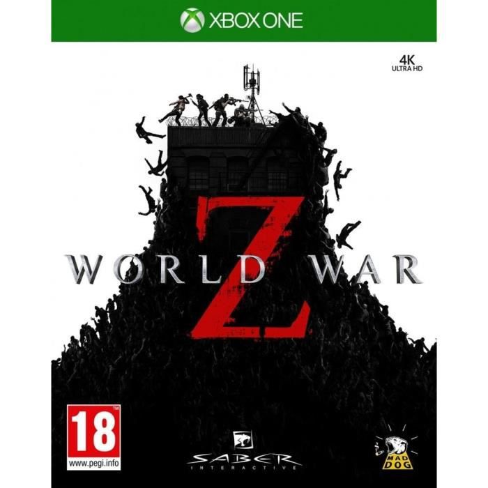 World War Z Jeu Xbox One
