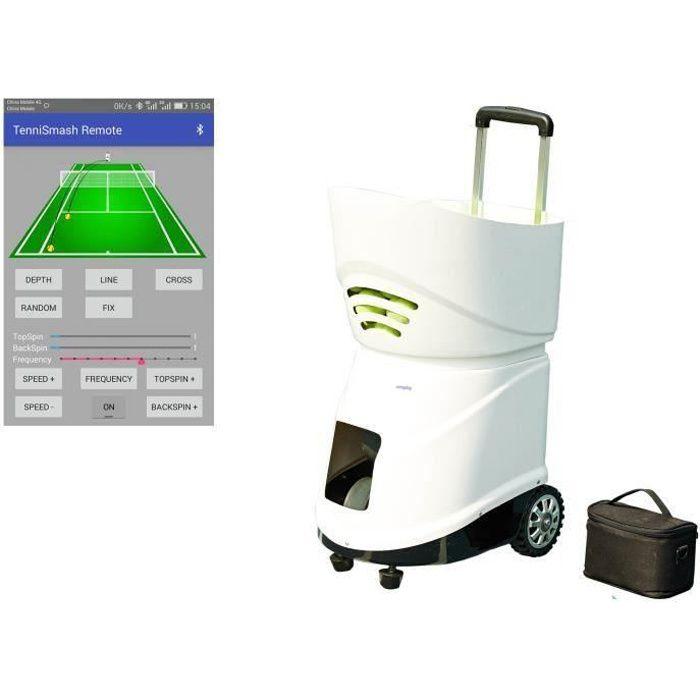 Easyday Machine de balle de tennis à piles portable automatique pour court de tennis