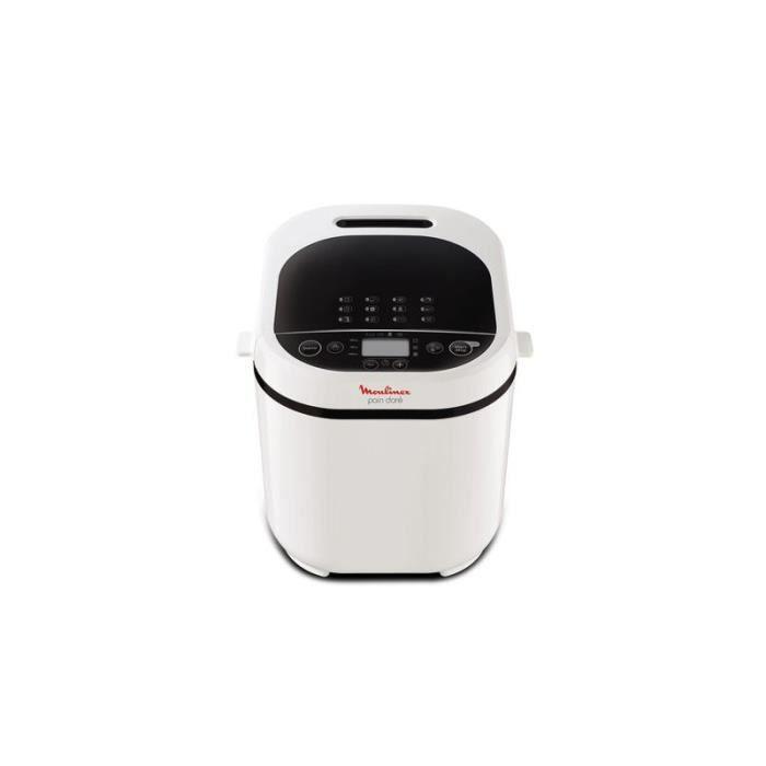 MOULINEX Machine à pain OW210130 pain doré - Blanc • Machine à pain • Cuisson conviviale