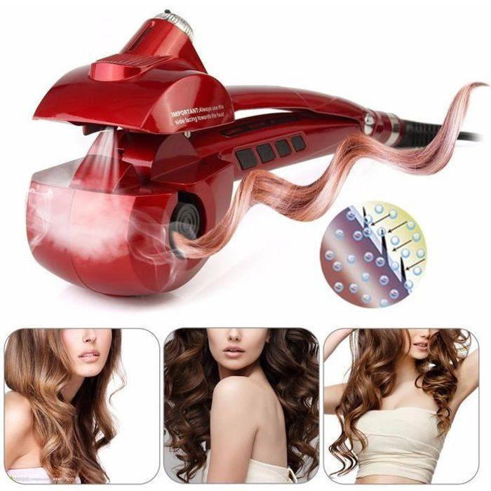 Fer à boucler steamtech Curl Machine - Perfect vapeur Curl Secret