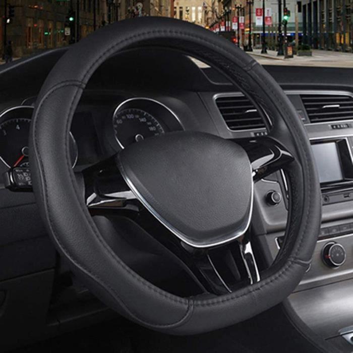 VOLANT WZJFZPL Couvre Volant de Voiture de Type D pour Citroen C3XR C4 pour Sega C4L pour Elysee DS3 DS4 DS5 DS3m pour Audi TT R164