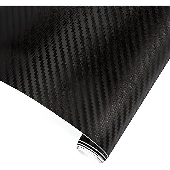 Autocollant covering fibre de carbone 50 x 100 cm 5D