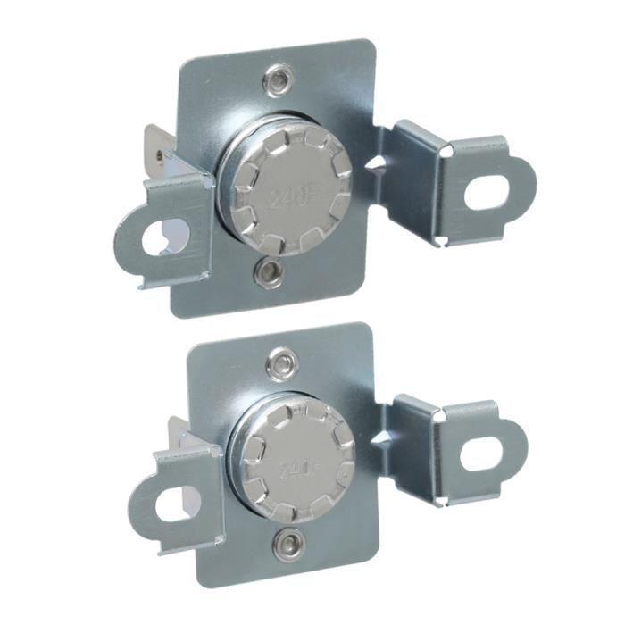 Ensemble d'accessoires de sécheuse pour thermostat de sécheuse 2 pièces 6931EL3003D & 6931EL3003C