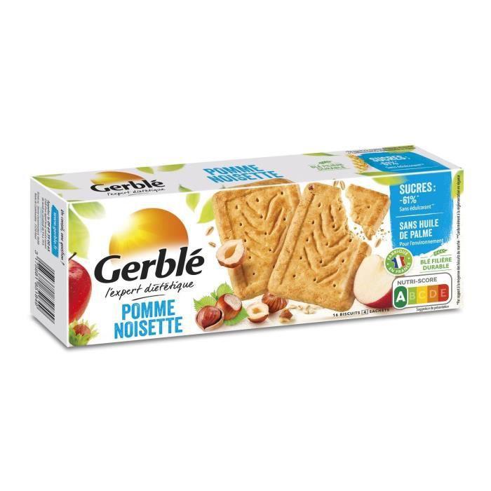 Biscuits pomme noisette 230 g Gerblé