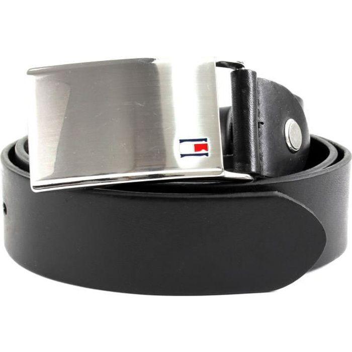 TOMMY HILFIGER TH Plaque Belt 3.5 W95 Black - kürzbar [58675]